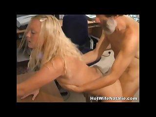 Husband films real shared wife fucking a headmaster