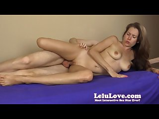 Lelu love side finger fuck creampie