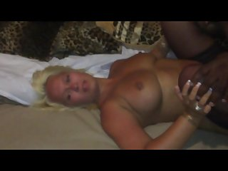 white wife taking first bbc cuckold