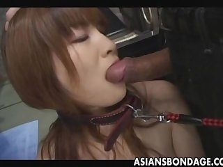 Japanese sex slave with dog collar uncensored