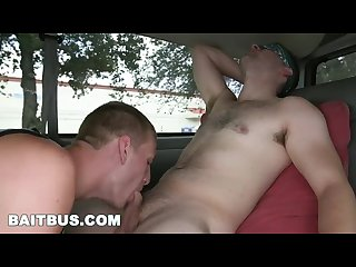 Baitbus gorgeous day for gay anal sex with rex wolfe and lucas weston