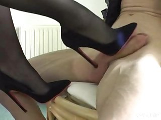 Amateur german shoe heeljob loversheels pornhub