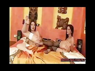 Bambi and Zafira having a nice feet fuck