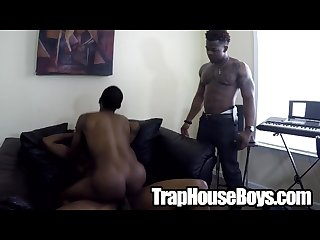 Thug ebony twinks on bareback compilation