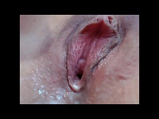 Close up creampie with nice clit