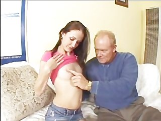 Old dicks and young chicks scene 1