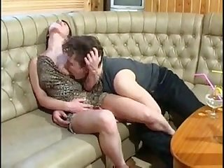 Drunk mom fucks step son