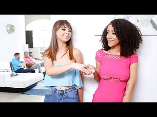 DaughterSwap - Teens Agree To Fuck Each Other\'s Daddies