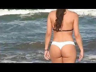 Argentina voyeur en la playa