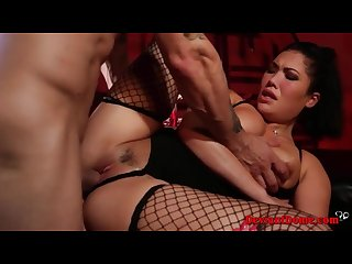 Hardcore bdsm fuck session for asian babe london keyes