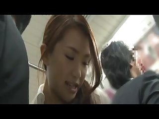 Japanese Grope in a Train