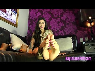 Foot fetish therapy with goddess kayla jane danger
