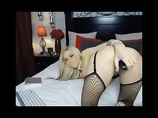 Blonde sexy webcam girl
