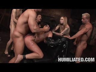 Kerry louise cum disfrace bdsm hard fuck