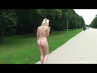 Naked in public for all to see compilation 2