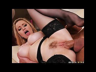 Beautiful blond milf aiden starr makes her son in law to cheat