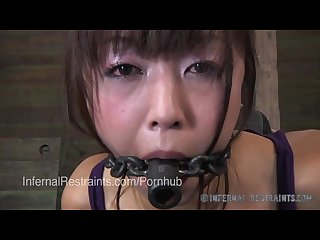 Japanese porn star marica hase in metal bondage