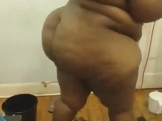 Ebony bbw ass play sct