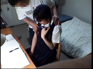 School student girl sexual obscene scene