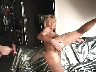 Atm with stunning mature bitch
