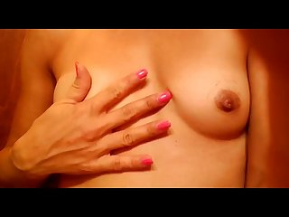 Sexy milf small tits homemade video