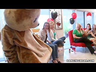 Jordan S divorcerette cfnm dancing Bear party with male strippers db9527