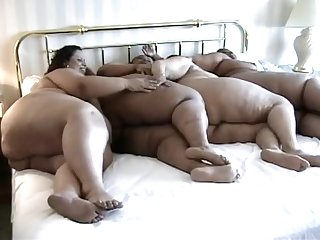 Four girl Ssbbw ebony orgy