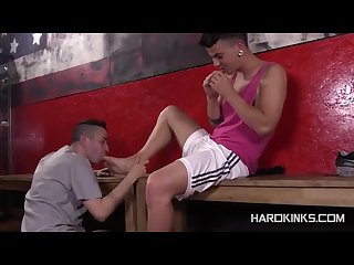 Brutal bondgage sex with david paw and rafa marco