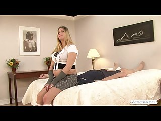 Pregnant dommes uses her extra weigh t to Punish her ass bitch
