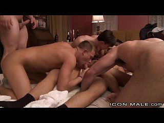 Iconmale brandon wilde s first gangbang