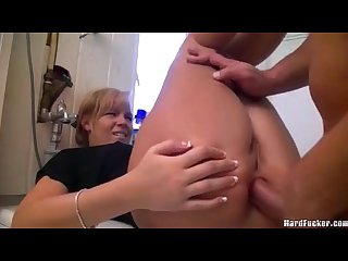 German wife hard anal
