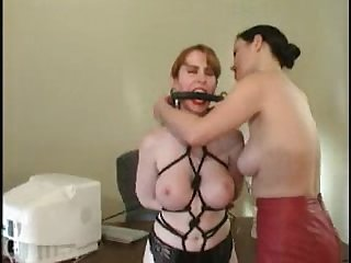 Secretary spanked and bound