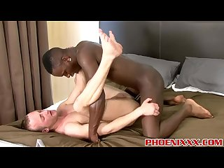 Black stud Nathan Dale pounding Jonny Kingdoms smooth ass