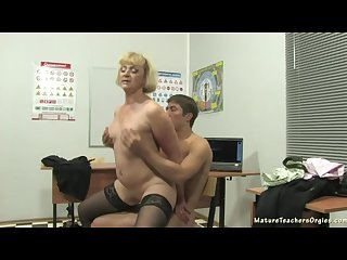 Russian guy fuck teacher 3