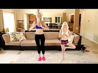 Lesbian sex after fitness lesson - Alexa Grace and Piper Perri