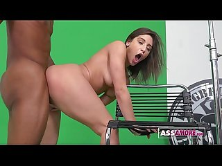 Abella Danger Casting Fuck Interracial Sex