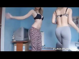 Two 18 year olds naked twin sisters on webcam