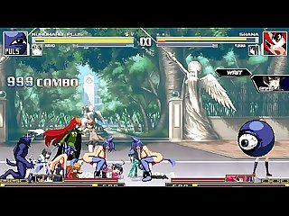 kuromaru plus VS Dengeki Bunko Fighting Climax 02 Hentai Mugen