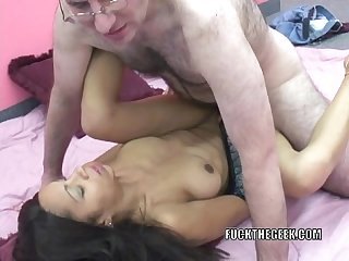 Slutty milf dolly takes some dick in her latina twat
