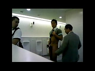Japanese cum in Toilet