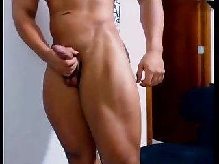 Hot latin hunk show off jerkit net