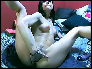 Horny Teen Babe & Sex Toy - Live Sex Show