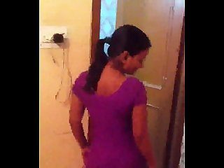 Desi bhabhi in salwar showing everything wid audio