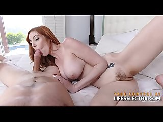 Lauren Phillips - Cock Hungry RedHead MILF (POV)
