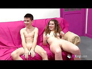 Real couples get an orgy and sex games with jordi ainara and friends