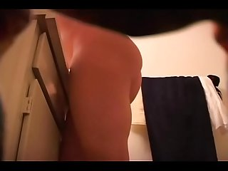 My naked stepsister 19 years old on spy camera