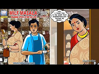 Velamma episode 67 Milf masala velamma spices up her sex life