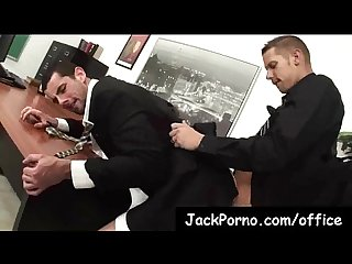Office cock gay guys fucked in the office clip 8