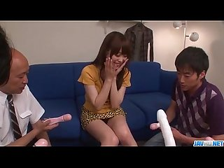 Amateur gangbang with toys for moe sakura more at javhd period net