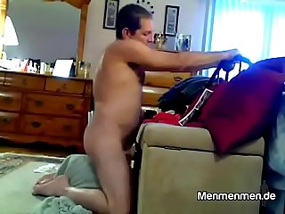 Dad's Masturbation Moment